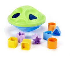 Shape Sorter TODDLER TOY, Lightweight No Small Parts with 10 Shape Pieces - $13.51