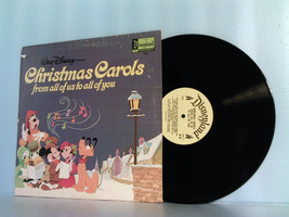 DISNEY~DISNEYLAND CHRISTMAS CAROLS ALL OF US TO YOU LP RECORD ALBUM 1973... - £31.60 GBP