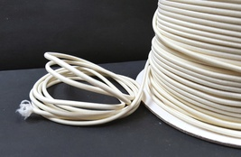 3mm width - 5-10yds Candle Light / Light Ivory Round Elastic Cord Thread... - $5.99+