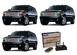 for GMC Yukon 01-06 RGB Multi Color WIFI LED Halo kit for Headlights - $147.51