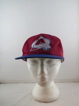 Colorade Avalanche Hat (VTG) - Two Tone by Sports Specialites - Adult Snapback - $45.00