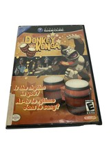 Donkey Konga Complete in Case w/manual- Tested Working (Nintendo GameCub... - $14.84