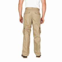 Men's Tactical Combat Military Army Work Twill Cargo Pants Trousers image 7