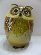 "Metlox Poppytrail Owl Canister 9 1/2"" RARE!! Cookie Jar (5) - $43.56"
