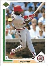 1991 Upper Deck BASEBALL-#390-Craig Wilson-Cardinals-Third Base - $3.96