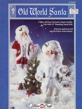 "Old World Santa 14"" Doll Outfit Fibre Craft Sewing Pattern Leaflet FCM259 HTF - $7.17"