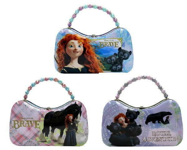 Disney Pixar Movie Brave, Girls Scoop Purse Carry All Tin Totes Set of 3 UNUSED