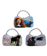 Disney Pixar Movie Brave, Girls Scoop Purse Carry All Tin Totes Set of 3... - $25.15