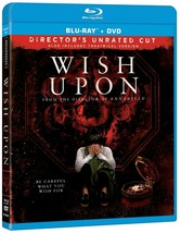 WISH UPON (Director's Unrated Cut) Blu-ray + DVD