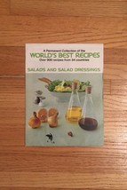 Vintage 1974 World's Best Salads & Salad Dressings Recipe Pack- unopened
