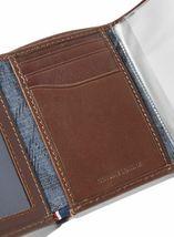 Tommy Hilfiger Men's Logan Trifold Zipper Coin Credit Card ID Wallet 31TL110018 image 4