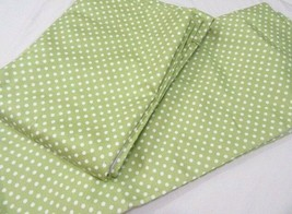 Pottery Barn Kids Polk-Dot Green 2-PC 88 x 63 Blackout Hidden-Tab Draper... - $63.00