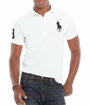 Polo Ralph Lauren Men's Short Sleeve Big Pony Logo Polo Shirt image 11