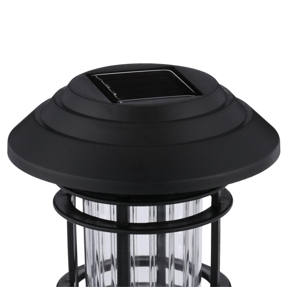 Hampton Bay LED Solar Pathway Lights Pack of 6. Great for Garden & Porch pathway
