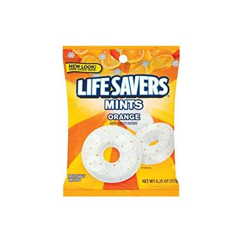 Life Savers, Orange Mints Hard Candy, 6.25oz Bags (Pack of 6) - $22.53
