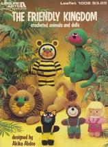 The Friendly Kingdom Leisure Arts Crochet Pattern Booklet 1008 Monkey Ti... - $7.95