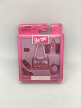 Barbie Special Collection Pink Fancy Jewelry Accessories Mattel 1997 NIB - $10.39