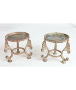 "Vintage Chafing Dish Stands - Set of 2 - 3-3/4"" High - $79.19"