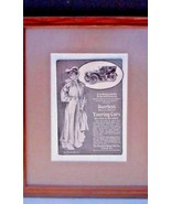 Framed And Matted 1904 Advertisement For The Peerless Touring Car - $11.87