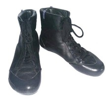 Camper 46515 Peu Boots Womens Black  Leather Ankle Boots Sz.7 - $97.95