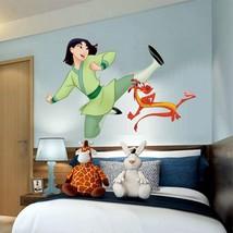 Mulan Mushu 3D Window Decal WALL STICKER Home Decor Art Mural kids movie  - $6.92+
