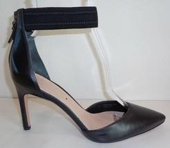 Via Spiga Size 7.5 M IFE Black Leather Dress Pumps Heels New Womens Shoes - $167.31