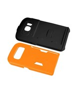 REIKO SAMSUNG GALAXY S6 CANDY SHIELD CASE WITH CARD HOLDER IN ORANGE TPU... - $10.83