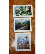 Park West Gallery Seriolithograph Prints in Color - lot of 3 - $22.99