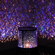 Stars Led Projector Lamp Colorful Projection Star Master  - $10.80