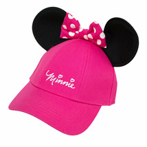 Minnie Mouse Youth Girls Ears Hat Pink - $16.98