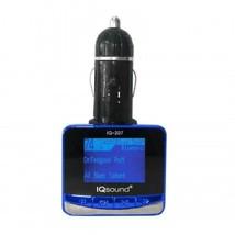 Supersonic Wireless FM Transmitter in Blue - $20.19