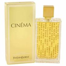 Perfume Cinema by Yves Saint Laurent Eau De Parfum Spray 3 oz for Women - $75.33