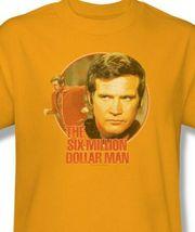 The Six Million Dollar Man Colonel Steve Austin Retro 70s graphic tee NBC526 image 3