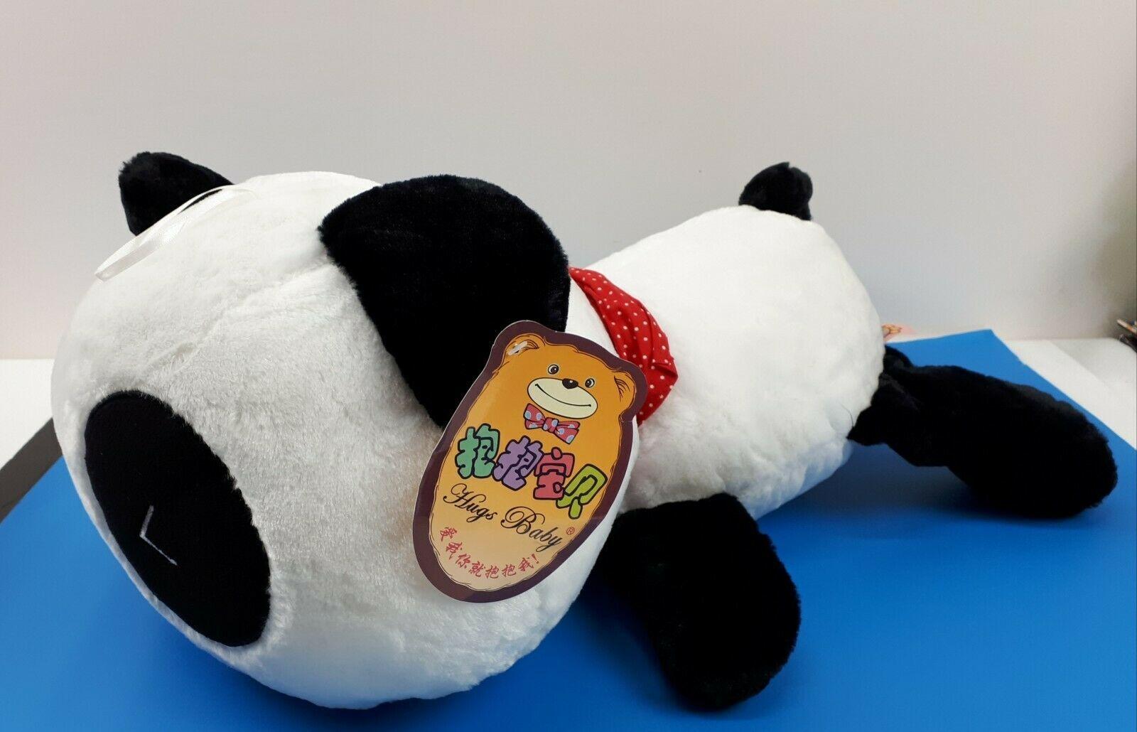 "Super Cute Smilling Panda Pillow Soft Plush Doll Kawaii Stuffed Animal 20"" NEW"