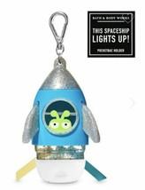 Bath & Body Works Martian SPACESHIP Pocket *Bac Holder Key Chain Light Up Alien - $19.99