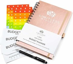 Budget Planner Non-Dated, Finance Journal, Expense Tracker, and Bill Org... - $19.26