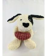 """Russ Home Buddies Terry Cloth Dog Plush Puppy 6.5"""" Heart Pillow Stuffed ... - $49.95"""