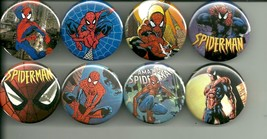 Spiderman Collection 1.5 Inch Pins Buttons Badg... - $11.00