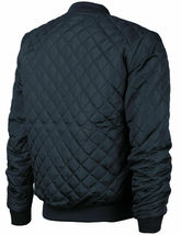 Men's Lightweight Ring Zipper Quilted Water Resistant Slim Bomber Jacket JASON image 7