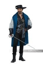 California Costumes Deluxe Three Musketeers Adult Mens Halloween Costume... - £32.68 GBP+