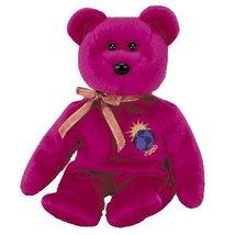 Ty Millennium the Bear Purple Beanie Baby - $6.99
