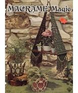 Macrame Magic - - Vintage macrame book - Digital download in PDF format - $3.50
