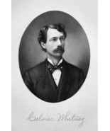 CALVIN WHITNEY Ohio Lumber Dealer & Organ Manufacturer - 1883 Portrait P... - $18.00