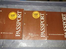 1999 Honda Passport Service Repair Shop Manual Set Feo W Ewd & Fuel & Emissions - $27.68