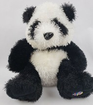 "Ganz Webkinz Panda Bear 9"" Plush Black White Stuffed Animal NO CODE - $13.31"