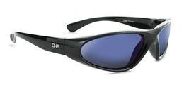ONE -Kids Skimmer - Black / Silver Polarized Sports Wrap Sunglasses - $21.48