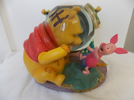 Disney Winnie The Pooh & Piglet Rumbly in my Tumbly Musical Snowglobe  - $85.00