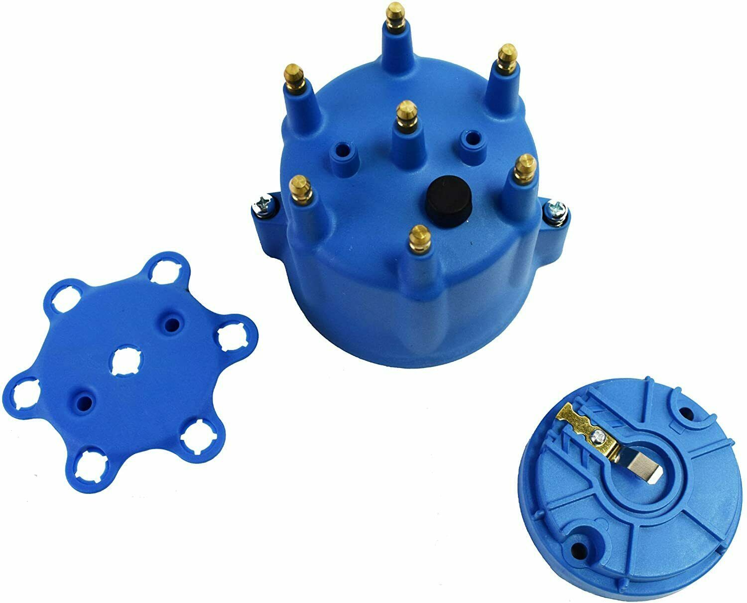 Pro Series Distributor Cap & Rotor Kit 6-Cylinder Blue