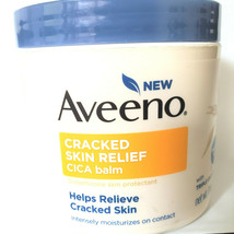 Aveeno 11 Oz. Cracked Skin Relief CICA Balm Fragrance Free Triple Oat Co... - $17.86
