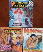 Lot of 3 books Various Spanish Adult mini comic books (ADLT-4) - $6.00